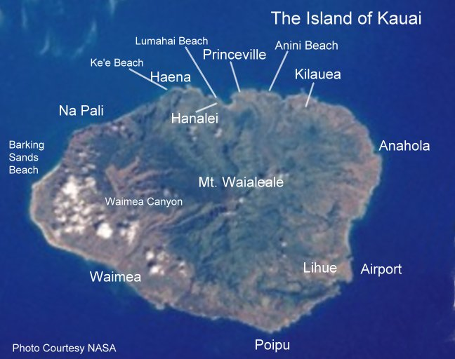 The Island of Kauai